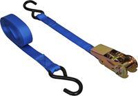 ProPlus spanband met haken 25 x 5000 mm PES 250 kg blauw p st