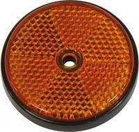 Carpoint reflectoren rond 70 mm oranje 2 stuks