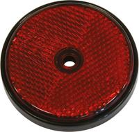 Carpoint reflectoren rond 70 mm rood 2 stuks