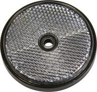 Carpoint reflectoren rond 70 mm wit 2 stuks