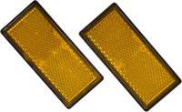 Carpoint reflectorset 86 x 40 mm 2 stuks oranje