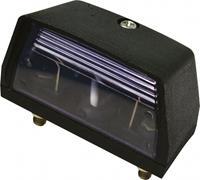 Carpoint kentekenverlichting 12 Volt 70 x 33 mm zwart