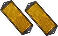 Carpoint reflectorset 104 x 40 mm 2 stuks oranje