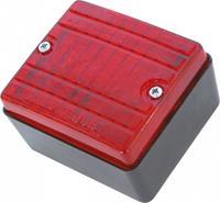 Carpoint mistachterlicht 12 Volt halogeen 70 x 80 mm rood