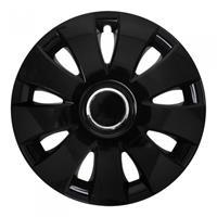 ProPlus wieldoppen Aura 15 inch zwart set van 4