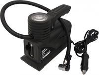 Carpoint compacte luchtcompressor 12 Volt 10 Bar zwart