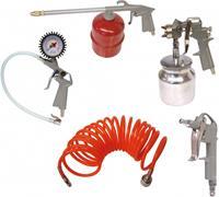 Carpoint toebehorenset compressor 5 delig