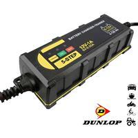 Dunlop acculader - Druppellader met LED Display