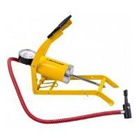 Dunlop Foot Air Pump Single Cylinder 8bar Yellow 871125241768