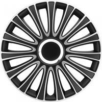 AutoStyle wieldoppen LeMans 15 inch ABS zwart/zilver set van 4