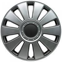 AutoStyle wieldoppen Pennsylvania 16 inch ABS zilver set van 4