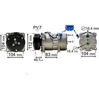Compressor, airconditioning Super Deals