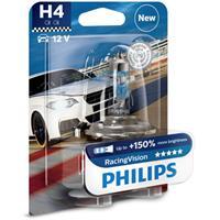 Gloeilamp H4 RacingVision 60/55W [12V] (1 st.) PHILIPS, H4, 12 V