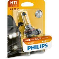 Gloeilamp H11 Vision 55W [12V] (1 stuks) PHILIPS, H11, 12 V