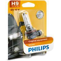 Gloeilamp H9 Vision 65W [12V] (1 stuks) PHILIPS, H9, 12 V