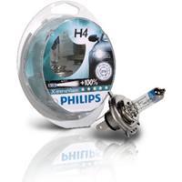 PHILIPS Gloeilamp H4 X-tremeVision + 60/55W [12V] (2 st.)   , 12 V