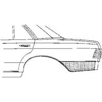 mercedes-benz Plaatwerkdeel Cedes 123 76-.ar Schermpl