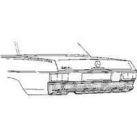 mercedes-benz Oversizedeel C.114/5 68-75.pl O Arbump