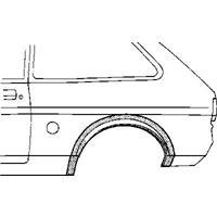 ford Plaatwerkdeel Fiesta 76-83.wlschrmrechts Ar