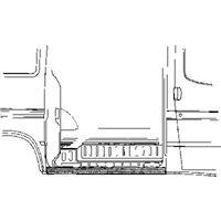 ford Plaatwerkdeel D Transit'86-.paneelplaat