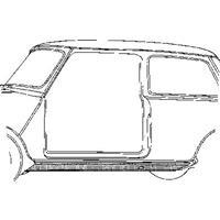 austin Oversizedeel In Mini 68-76 Onderdorpel