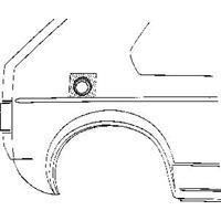 Volkswagen Plaatwerkdeel /jet/sci 74-84 Benzindopp