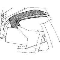 mercedes-benz Plaatwerkdeel Edes Trans.l207d'77.bin.w