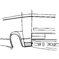 Volkswagen Plaatwerkdeel Ans/prit 80- Achschermplt