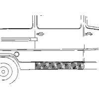 mercedes-benz Plaatwerkdeel Edes L207d407d.zijpl Onde