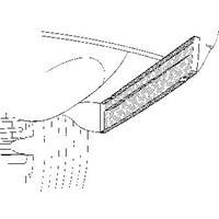 mercedes-benz Oversizedeel Rc 114/5 68-75 Schrmplaat