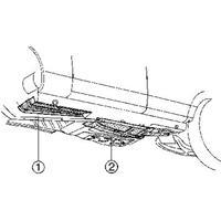mercedes-benz Plaatwerkdeel Edes 123 76-.vloerplinks Voor