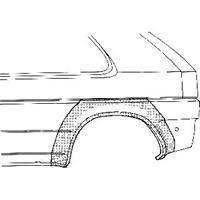 ford PLAATWERKDEEL A 89-95 WIELSCHERMRAND 4-deurs
