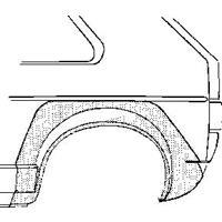 Volkswagen Wielrand rechts 3-deurs
