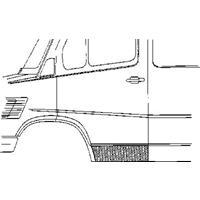mercedes-benz Plaatwerkdeel Cedes L207d407d.deurplaat