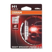 NIGHT BREAKER SILVER OSRAM, H1, 12 V