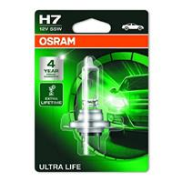 Gloeilamp H7 Ultra Life 55W [12V] (1 st.) OSRAM, H7, 12 V