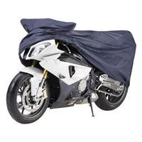cartrend Motor beschermhoes (l x b x h) 203 x 119 x 89 cm Motorfiets maat M Honda CBF 125, Yamaha YZF-R125 en vergelijkbare modellen