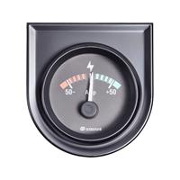 Equus 842052 Inbouwmeter (auto) Ampèremeter Meetbereik -50 - +50 A Standart Geel, Rood, Groen 52 mm