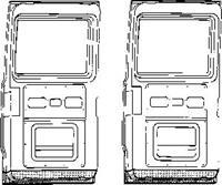 mercedes-benz Plaatwerkdeel Edes L207d407d.onderk Deu