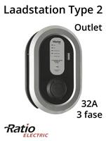 Ratio EV Laadstation type 2 Outlet 32A 3 fase