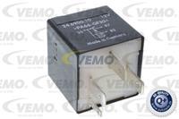 Relais, brandstofpomp VEMO, Zwart, 4-polig, 12 V