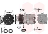 chevrolet Compressor, airconditioning