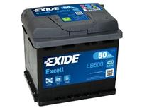 opel Exide Accu Excell EB500 50 Ah