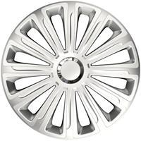 4-Delige Wieldoppenset Trend Silver 13 inch
