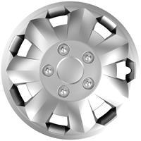 4-Delige Wieldoppenset Nova NC Silver 14 inch