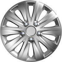 4-Delige Wieldoppenset rapide NC Silver 14 inch