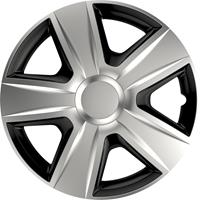 4-Delige Wieldoppenset Esprit Silver&Black 14 inch