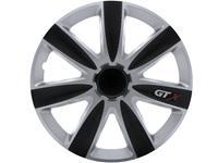 4-Delige Wieldoppenset GTX Carbon Black & Silver 13''
