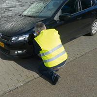 Carpoint veiligheidshesje Oxford polyester oranje maat XL