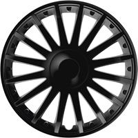 4-Delige Wieldoppenset Crystal Black 15 Inch